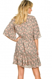 Aaiko |  Floral dress Saria | pink  | Picture 7