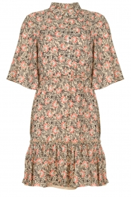 Aaiko |  Floral dress Saria | pink  | Picture 1