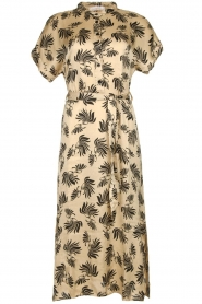 Aaiko |  Printed midi dress Aletta | grey  | Picture 1