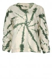 Aaiko |  Sweater tie-dye Tezz | green  | Picture 1