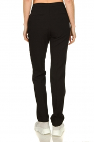 Aaiko |  Straight trousers Vanory | black  | Picture 5