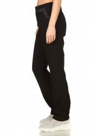 Aaiko |  Straight trousers Vanory | black  | Picture 4