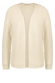 Aaiko |  Knitted cardigan Artessa | white  | Picture 1