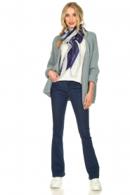 Aaiko |  Knitted cardigan Artessa | blue  | Picture 3
