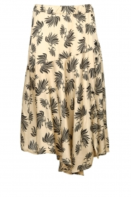 Aaiko |  Printed midi skirt Giuele | grey  | Picture 1