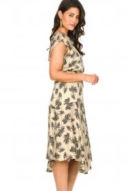 Aaiko |  Printed midi skirt Giuele | grey  | Picture 4