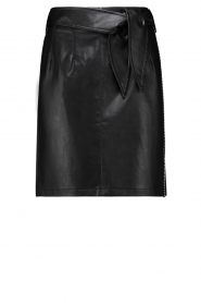 Aaiko |  Faux leather skirt Patia | black   | Picture 1