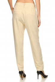 Aaiko |  Pinstripe trousers Wyatt | natural  | Picture 7