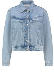 Aaiko |  Denim jacket Bryanna | blue  | Picture 1