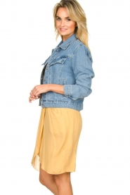 Aaiko |  Denim jacket Bryanna | blue  | Picture 4