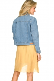 Aaiko |  Denim jacket Bryanna | blue  | Picture 5