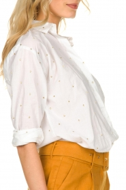 Aaiko    Embroidered blouse Verana   natural    Picture 8
