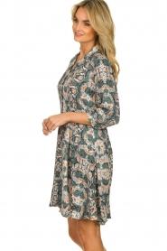 Aaiko |  Snake printed dress Terri | green  | Picture 5