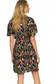 Aaiko |  Floral dress Varsha | black  | Picture 7