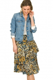 Aaiko | Skirt with print Coby | multi  | Picture 2