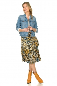 Aaiko | Skirt with print Coby | multi  | Picture 3