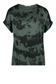 Aaiko |  Tie dye top Merle | green  | Picture 1