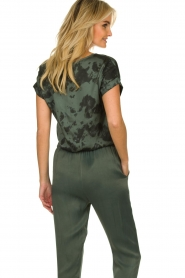 Aaiko |  Tie dye top Merle | green  | Picture 6