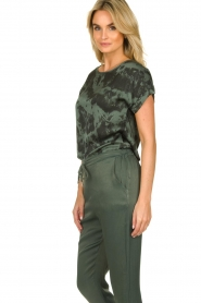 Aaiko |  Tie dye top Merle | green  | Picture 5