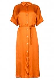 Aaiko |  Midi button dress Sienne | orange  | Picture 1
