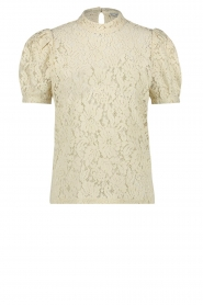 Aaiko |  Lace top Loise | natural  | Picture 1