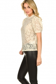 Aaiko |  Lace top Loise | natural  | Picture 5