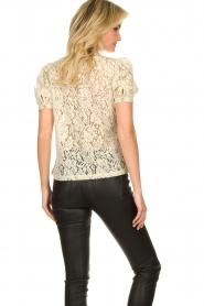 Aaiko |  Lace top Loise | natural  | Picture 6