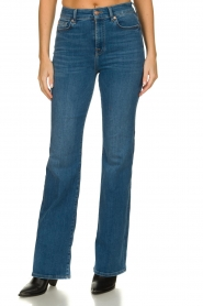 7 For All Mankind |  High waist bootcut jeans Lisha | blue  | Picture 2
