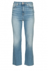 7 For All Mankind |  High waist cropped jeans Vintage | blue  | Picture 1