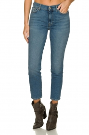 7 For All Mankind |  Mid waist skinny jeans Roxanne | blue  | Picture 2