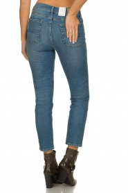 7 For All Mankind | Mid waist skinny jeans Roxanne | blauw  | Afbeelding 5
