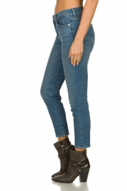 7 For All Mankind | Mid waist skinny jeans Roxanne | blauw  | Afbeelding 4