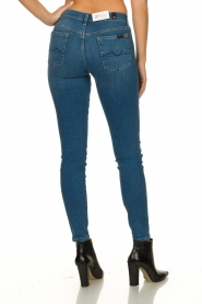 7 For All Mankind | Skinny jeans The skinny | blauw   | Afbeelding 5