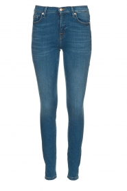 7 For All Mankind | Skinny jeans The skinny | blauw   | Afbeelding 1