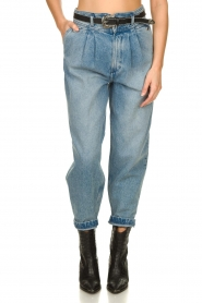 IRO |  Baggy high waist jeans Joppo | blue  | Picture 4