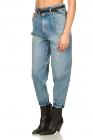 IRO    Baggy high waist jeans Joppo   blue    Picture 4