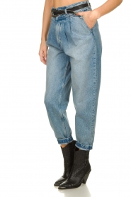 IRO |  Baggy high waist jeans Joppo | blue  | Picture 5