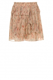 IRO |  Ruffle skirt with lurex Joucas | pink  | Picture 1