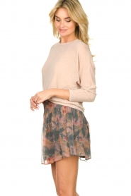 IRO |  Printed skirt Monieux | grey  | Picture 4