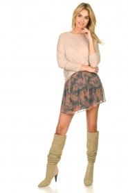 IRO |  Printed skirt Monieux | grey  | Picture 3