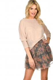 IRO |  Printed skirt Monieux | grey  | Picture 2
