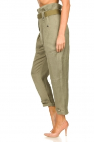 IRO |  Paperbag pants Mohan | green  | Picture 5