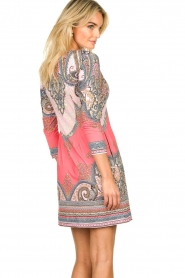 Hale Bob |  Microfiber dress with print Lolo | red  | Picture 5