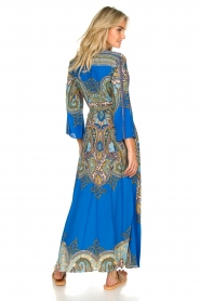 Hale Bob |  Printed maxi dress Chesse | blue  | Picture 8