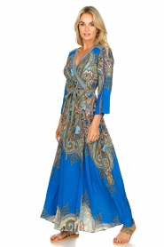 Hale Bob |  Printed maxi dress Chesse | blue  | Picture 5