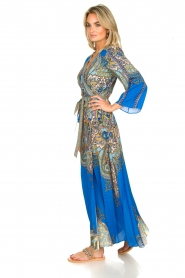 Hale Bob |  Printed maxi dress Chesse | blue  | Picture 4