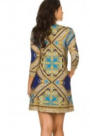 Hale Bob    Microfibre dress Renaissance    blue    Picture 5