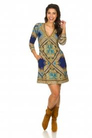 Hale Bob    Microfibre dress Renaissance    blue    Picture 3