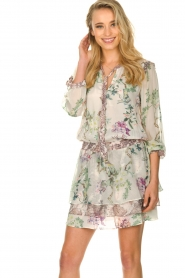 Hale Bob |  Floral dress Jeanette| naturel  | Picture 2