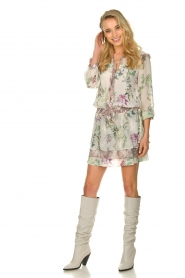 Hale Bob |  Floral dress Jeanette| naturel  | Picture 3